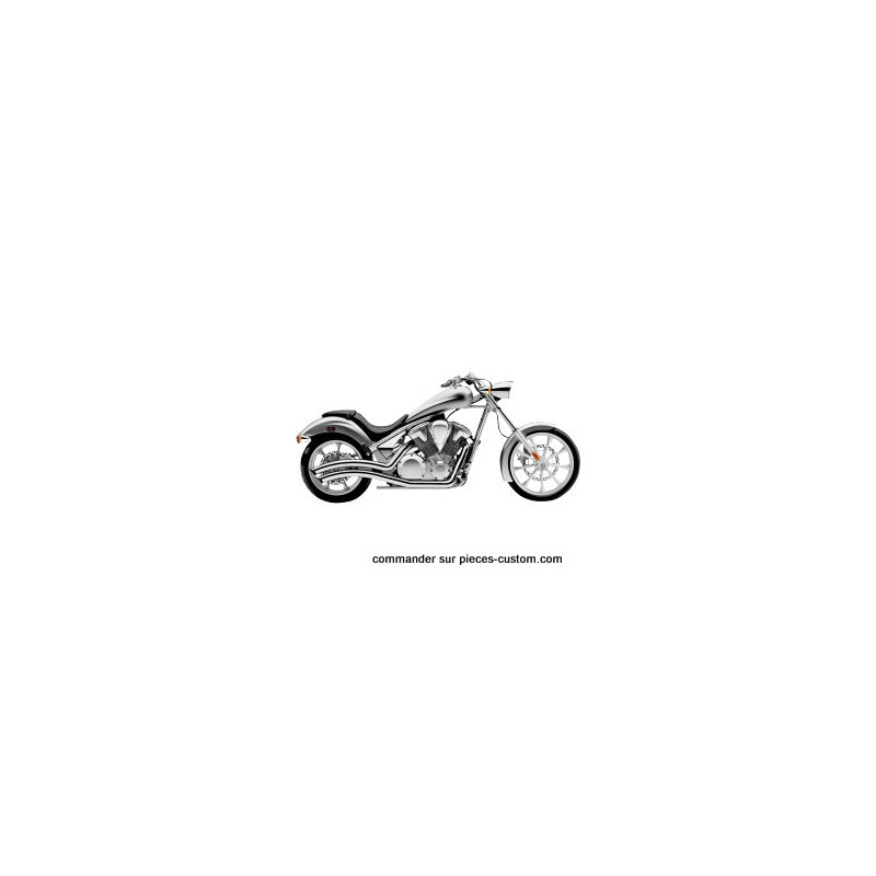 Echappement Cobra Speedtser chrome pour Honda VT1300 CX de 2010 à 2016