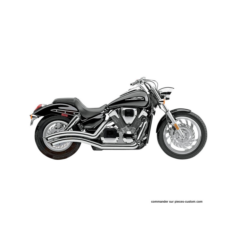 Echappement Cobra Speedster Chrome Honda VTX1300C de 2004 à 2009