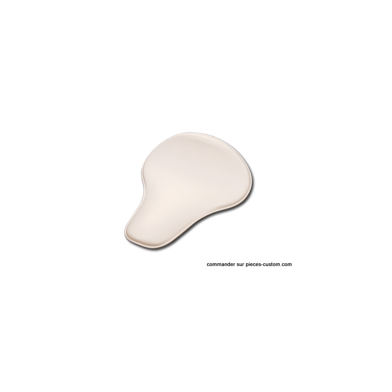 Selle Solo Slimline Large Blanche