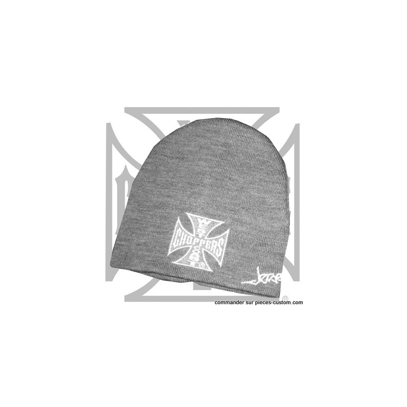 Bonnet de West Coast Choppers Gris