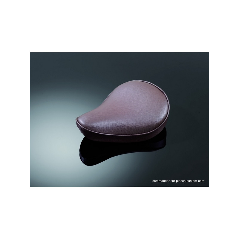 "Selle ""Old school"" marron petit modèle"