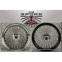 "Roue avant King Spoke 23""X3.5 pour 00up"