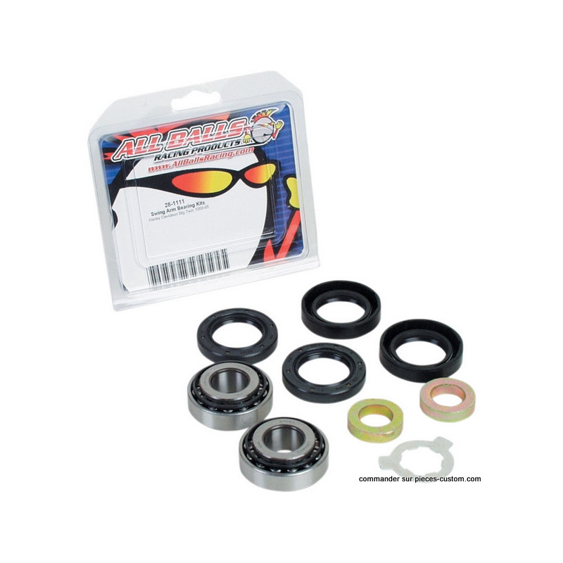 Kit de roulements bras oscillant Big twin 85-86