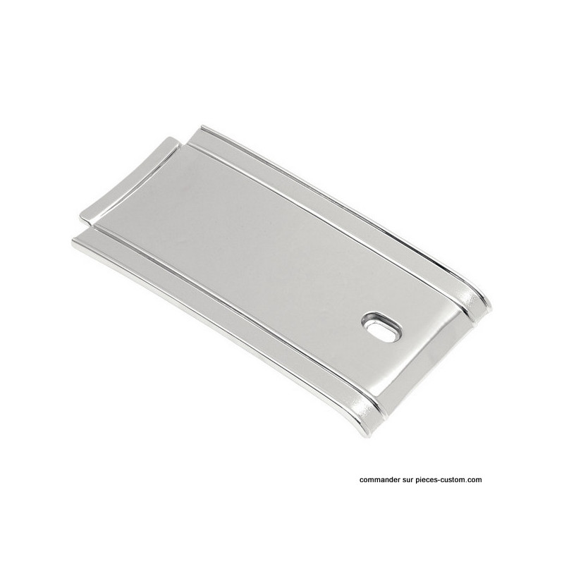 Tank panel Lisse chromé Softail 84-99