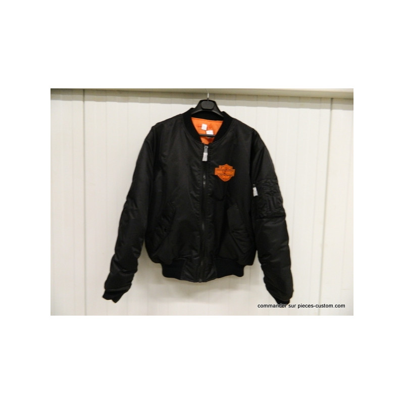 Blouson Bombers type Harley Taille L