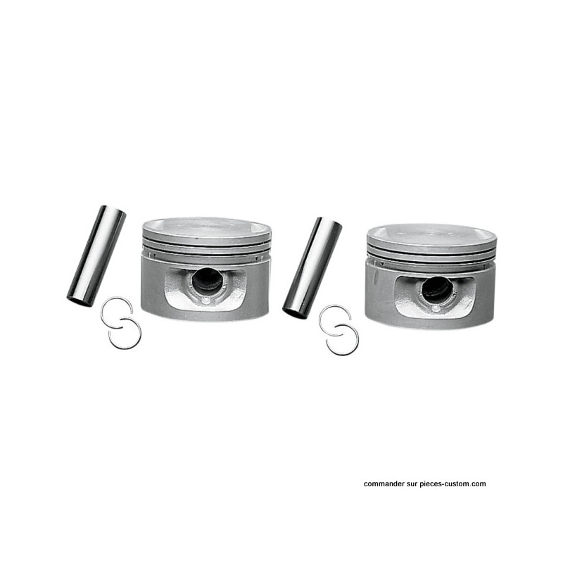 Kit de Pistons cote .020 Big Twin 1340cc