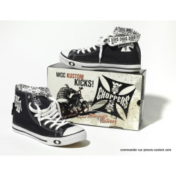 Basket West Coast Choppers Noir/blanc 43