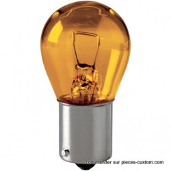Lampe clignotant orange 12v 21w
