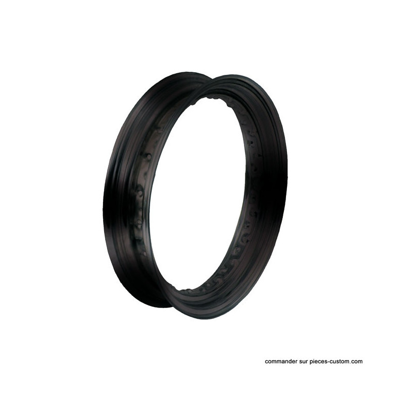 """Jante noire 40 rayons 16"""" / 4.50"""