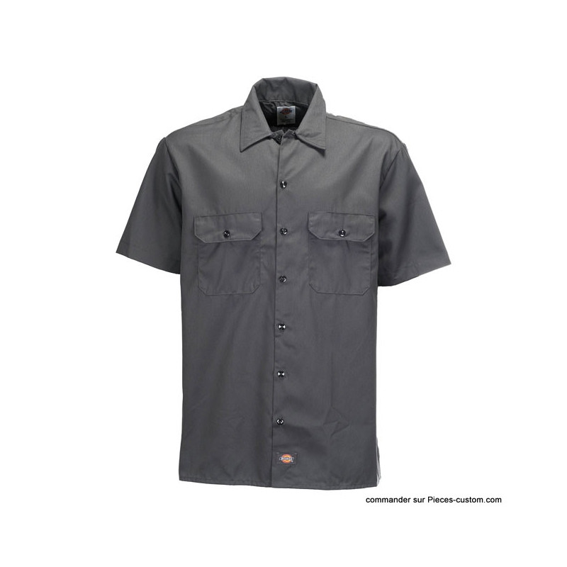 Chemise Work Grise Dickies