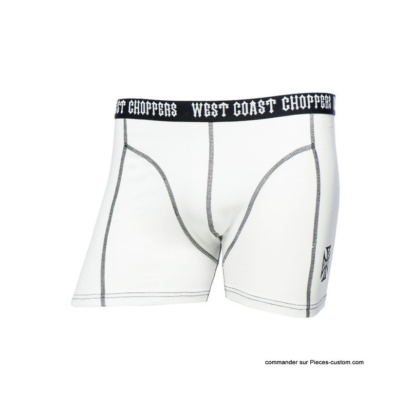 Boxer stretch West Coast Choppers Blanc