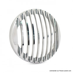 "Grille de phare 5 3/4"" Poli Rough Crafts"