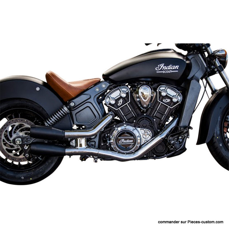 Silencieux Slip-On Noir Indian scout 15