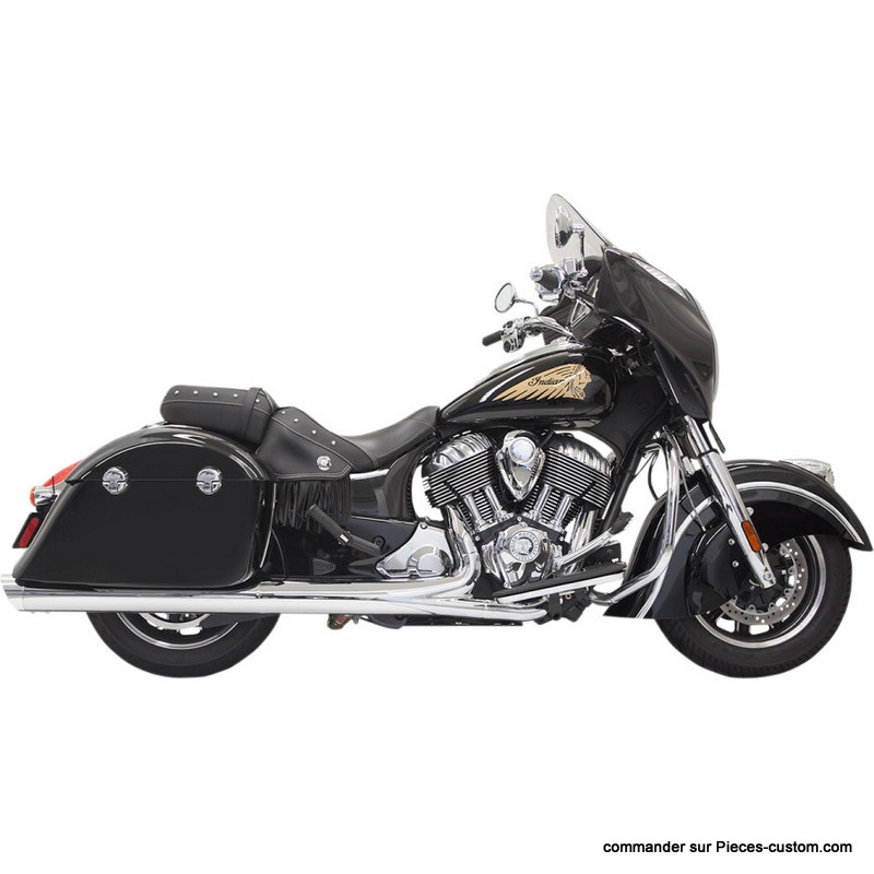"Silencieux 4"" Performance Indian Chieftain"