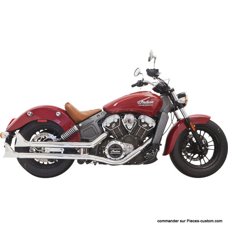 "Silencieux 2 1/4"" Indian Scout 15-16"