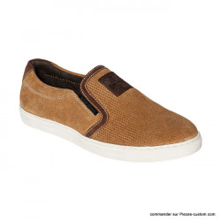 Chaussures Slip-on WCC Marron