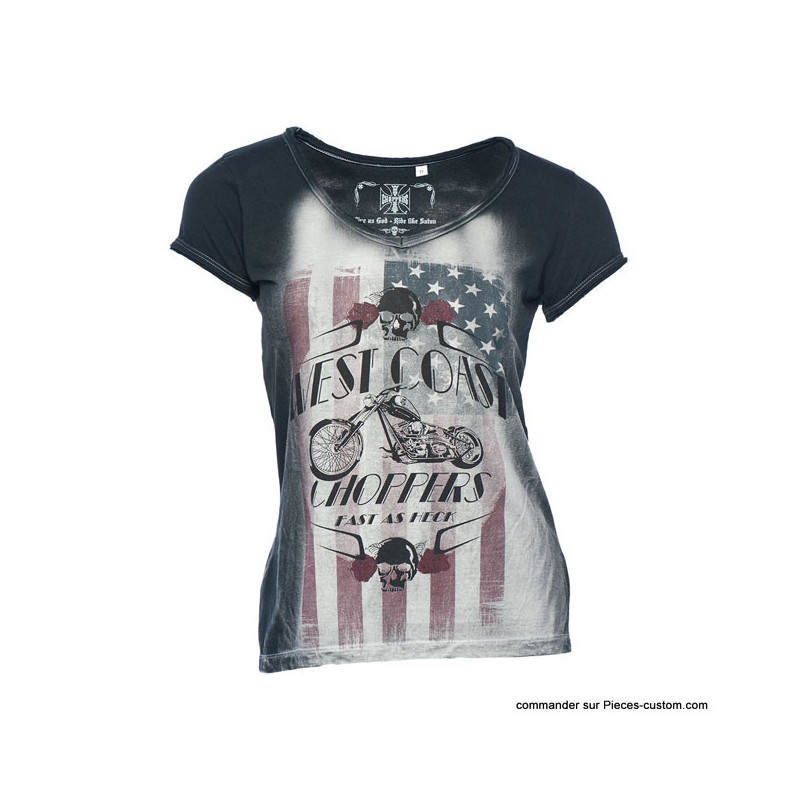 T-Shirt Femme WCC Fast as Heck