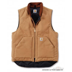 Veste Duck artic Quilt Lined Marron Carhartt