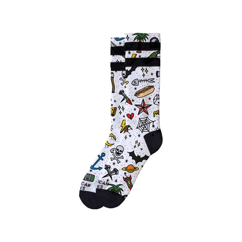 Chaussettes American Socks Tattoo Boy Taille 42-47