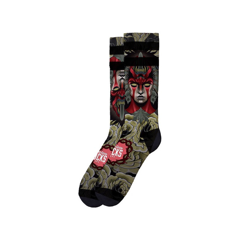Chaussettes American Socks Deamon Taille 38-41