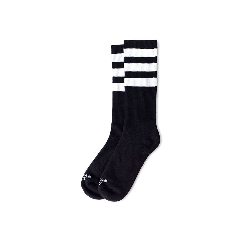 Chaussettes American Socks Back in Black 2