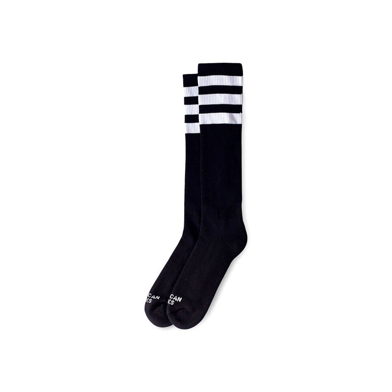 Chaussettes American Socks Back in Black 48cm