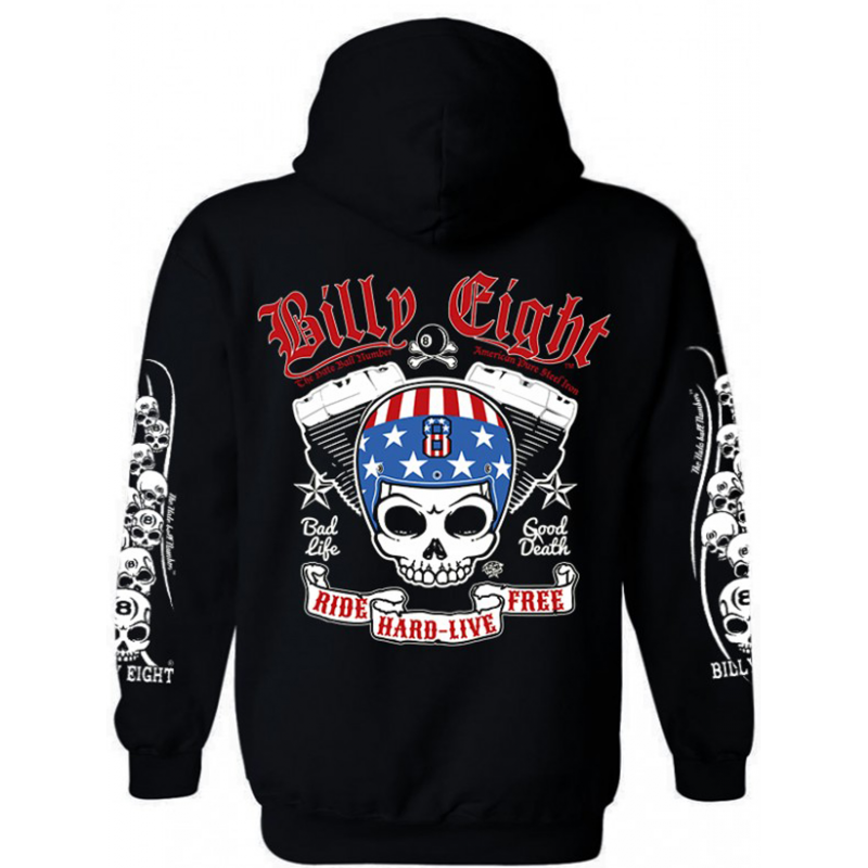 Sweat à capuche Billy Eight American 8