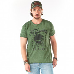 T-shirt Von Dutch Cortes Kaki
