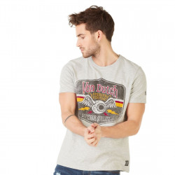 T-shirt Von Dutch Gas Gris chiné