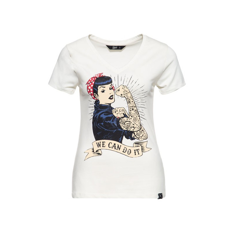 T-shirt Queen Kerosin We Can do it Taille S