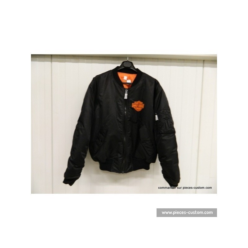 Blouson Bombers type Harley Taille 4XL